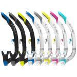 Největší obrázek výrobku Šnorchl ULTRA SD, Black/Blue, Black/Titanium, Black/Yellow, White/Pink, White/Sea Blue, Clear/Blue, Clear/Titanium, Clear/Yellow